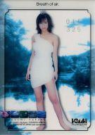 仲根かすみ/Breath of air/クリアカード(/325)/BOMB CARD PLATINUM 仲根かすみ オフィシャルトレーディングカード
