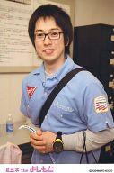 フルーツポンチ/亘健太郎/上半身・衣装水色・両手組み・眼鏡・ポストカードサイズ/ルミネtheよしもと/公式生写真