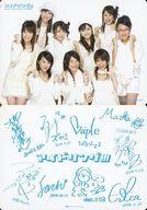 アイドリング!!!/集合(9人)/横型/CD「Snow Celebration/モテ期のうた」(PCCA-02607)特典トレカ