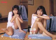 090 : 菊池りえ/レギュラーカード/Lucky Crepu GirlsBestSelection