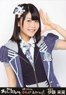 伊藤来笑/上半身/『AKB48スーパーフェスティバル ~ 日産スタジアム、小(ち)っちぇっ! 小(ち)っちゃくないし!! ~』会場限定生写真(HKT48ver)