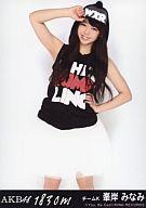 【中古】生写真(AKB48・SKE48)/アイドル/AKB48 峯岸みなみ/CD「1830m」劇場盤特典