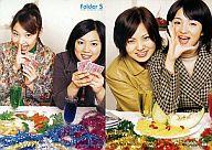 081 : 阿嘉奈津(NATSU)・石原萌(MOE)/Party Card/09(レギュラーカード)/Folder 5 FIRST TRADING CARD