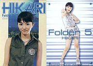 112 : 満島ひかり(HIKARI)/Special Card/04(ホイル仕様)/Folder 5 FIRST TRADING CARD