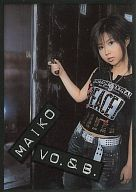 No.033 : MAIKO/スペシャルカードC(クリアカード)/ZONE 1st トレーディングカード Cute & Powerful Card