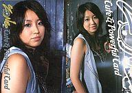 P-002 : TOMOKA/プロモーションカード(ホイル仕様)/ZONE 1st トレーディングカード Cute & Powerful Card