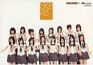 SKE48/集合(16人)/横型/CD「強き者よ」TOWER RECORDS特典