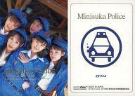 014 : ミニスカポリス/箔押しカード/出動 ! ミニスカポリス COLLECTION CARDS