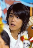 Hey!Say!JUMP/高木雄也/バストアップ・衣装白・目線左・口開け/公式生写真