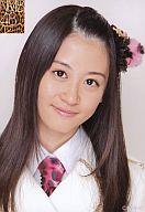上西恵/バストアップ・ピンクヒョウ柄衣装/公式生写真
