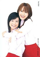 No.0061 : モーニング娘。/亀井絵里・高橋愛/DVD「涙が止まらない放課後」特典Hello!Projectフォトカード