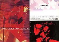No.005 : T.M.Revolution/西川貴教/スペシャルカードB(LIVE SPECIAL CARD)/ホイル加工/T.M.R. Royal Straight Flush Card REBIRTH
