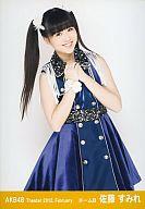 佐藤すみれ/膝上/劇場トレーディング生写真セット2012.February