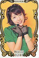 NO.13 : 小川麻琴/スペシャル箔押しカード/モーニング娘。プリネームプチカード