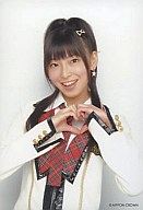 大矢真那/上半身・両手でハート/CDA「手をつなぎながら」特典/生写真(サイズ小)