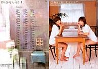 74 : 熊田曜子with相楽のり子/Check List 1/レギュラーカード