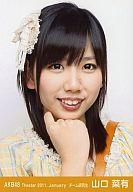 AKB48/山口菜有/顔アップ/劇場トレーディング生写真セット2011.January