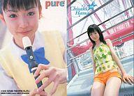 169 : 浜千咲/雑誌「pure×2」付録トレカ
