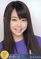 峯岸みなみ/顔アップ/ AKB48 薬師寺奉納公演2010「夢の花びらたち」