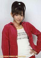 °C-ute/鈴木愛理/上半身/衣装赤/左手腰/°C-ute応援企画第7弾!トレカサイズ生写真