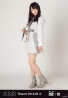 西川怜/全身/AKB48 劇場トレーディング生写真セット2019.August2 「2019.08」 チームAセット