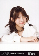 馬嘉伶/バストアップ/AKB48 劇場トレーディング生写真セット2019.August2 「2019.08」 チーム4セット