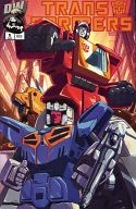 Transformers Generation 1 issue 5 VOL.1 August 2002