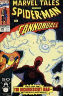 Marvel Tales Spider-Man and Cannonball in The Incandescent Man(246)