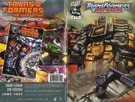 Transformers Armada issue 10 VOL.1 APRIL 2003