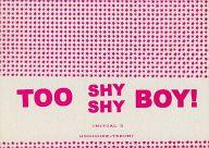 <<頭文字D>> TOO SHY SHY BOY! (高橋涼介×藤原拓海) / LIMIT BREAK