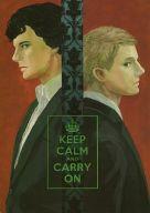 <<ドラマ>> KEEP CALM AND CARRY ON (シャーロック、ジョン) / Chesklor