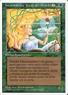 [R] : 【イタリア語版】Verduran Enchantress/新緑の女魔術師