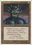 [UC] : 【イタリア語版】Obsianus Golem/黒曜石のゴーレム