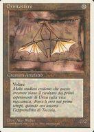 [UC] : 【イタリア語版】Ornithopter/羽ばたき飛行機械