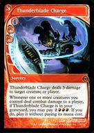 [R] : Thunderblade Charge /雷刃の突撃