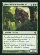 [R] : Spearbreaker Behemoth /槍折りのビヒモス