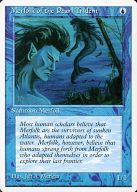 [C] : Merfolk of the Pearl Trident/真珠三叉矛の人魚