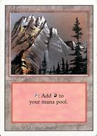 [C] : Mountain/山