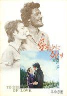 パンフ)愛のために死す No.'71~8 みゆき座