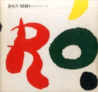 <<パンフレット(図録)>> パンフ)Joan Miro EXHIBITION-JAPAN 1966 ミロ展