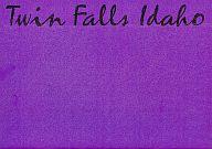 パンフ)Twin Falls Idaho ツイン・フォールズ・アイダホ
