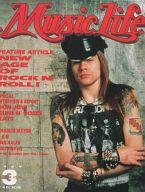 MUSIC LIFE 1989年3月号 ミュージック・ライフ
