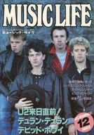 MUSIC LIFE 1983/12 ミュージック・ライフ