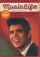 付録付)MUSIC LIFE 1966年3月号 ミュージック・ライフ