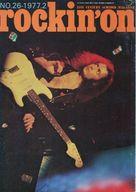 rockin'on 1977/2 ロッキング・オン
