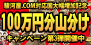 駿河屋.COM100万キャンペーン