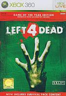 アジア版 LEFT 4 DEAD GAME OF THE YEAR EDITION(国内版本体動作可)