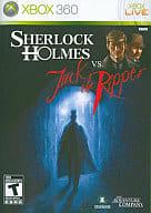北米版 SHERLOCK HOLMES VS JACK THE RIPPER(国内版本体動作不可)