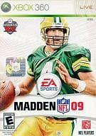 北米版 MADDEN NFL 09(国内版本体動作可)