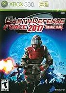 北米版 EARTH DEFENCE FORCE 2017 地球防衛軍 (国内版本体不可)
